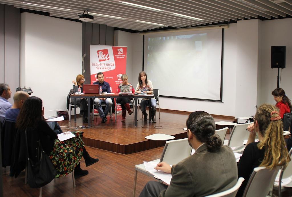 Xarxa EAPN CV en la jornada de Polítiques socials d'EU a l'OCC