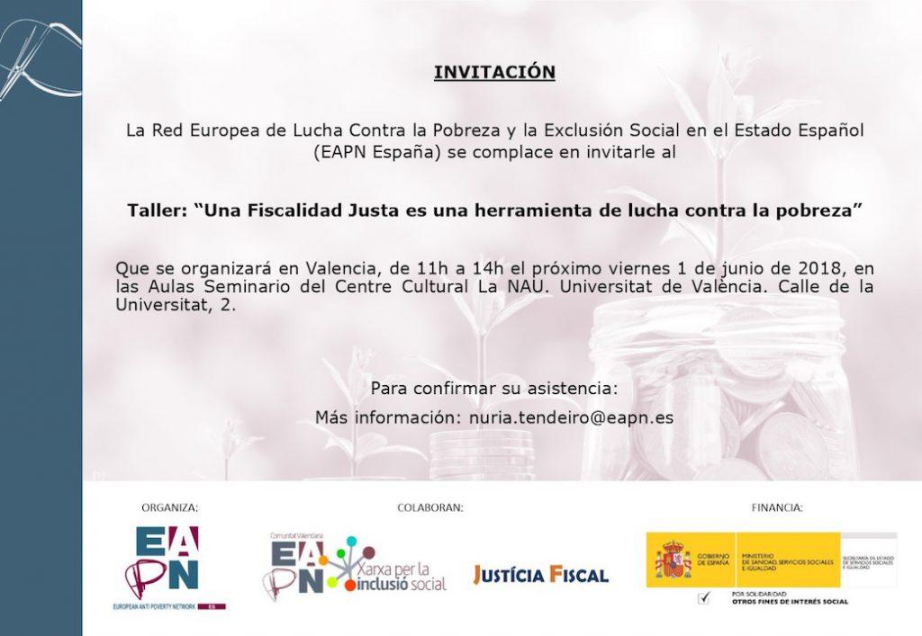 Invitación Taller Fiscalidad WEB